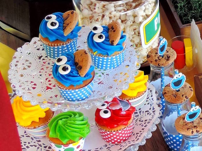 Karas Party Ideas Rustic Whimsical Sesame Street Birthday Party
