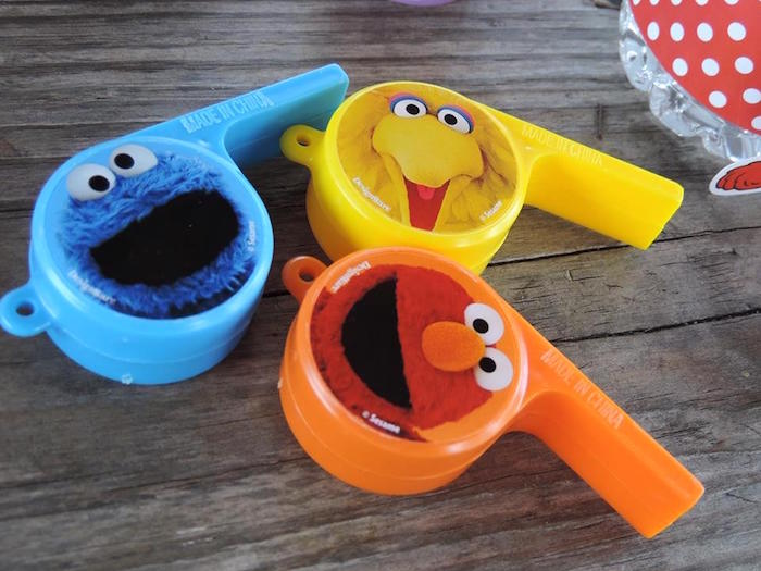Favors from a Rustic Whimsical Sesame Street Birthday Party via Kara's Party Ideas | KarasPartyIdeas.com (41)