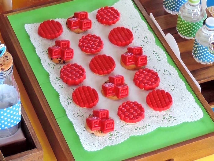 Cookies from a Rustic Whimsical Sesame Street Birthday Party via Kara's Party Ideas | KarasPartyIdeas.com (8)