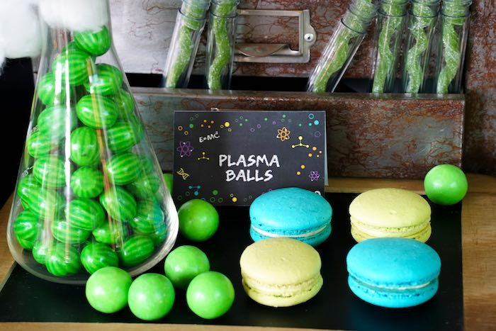 Sweet Treats from a Scientist Themed Birthday Party via Kara's Party Ideas | KarasPartyIdeas.com (13)