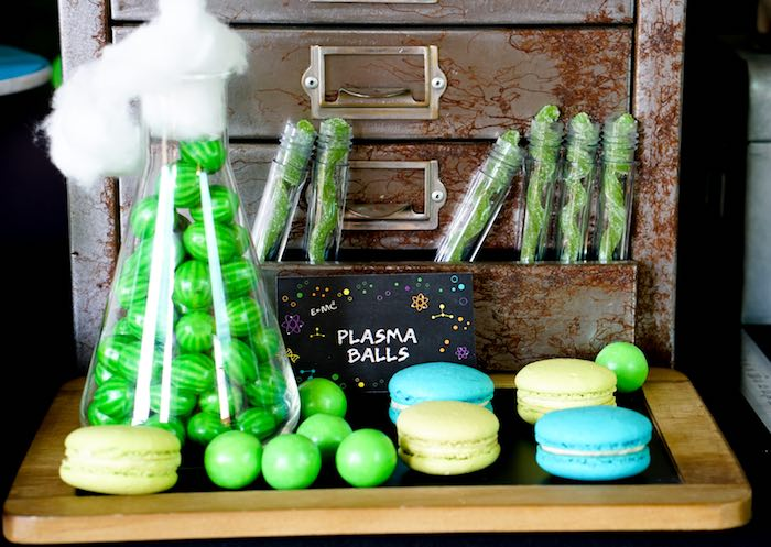 Candy + Sweets from a Scientist Themed Birthday Party via Kara's Party Ideas | KarasPartyIdeas.com (7)