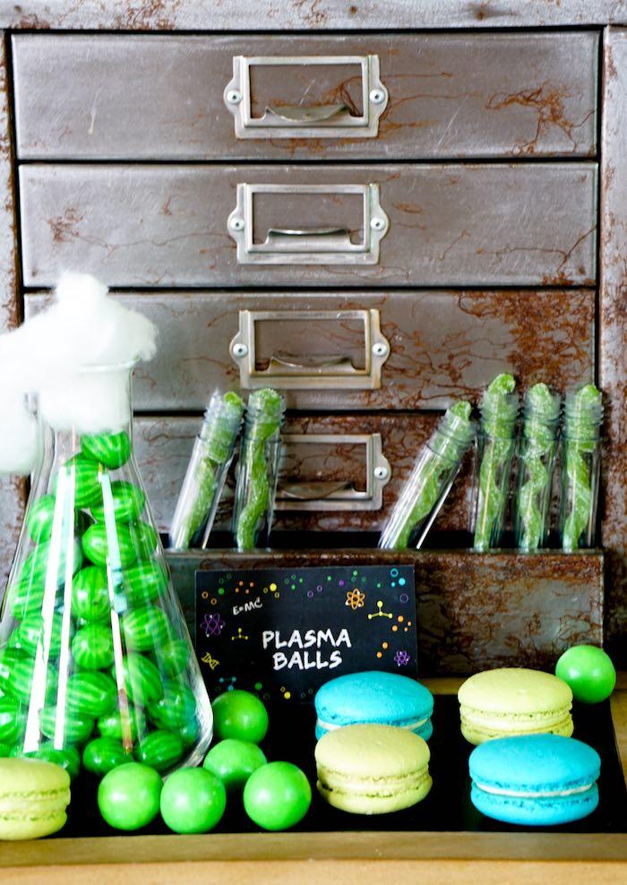 Sweet Treats from a Scientist Themed Birthday Party via Kara's Party Ideas | KarasPartyIdeas.com (18)