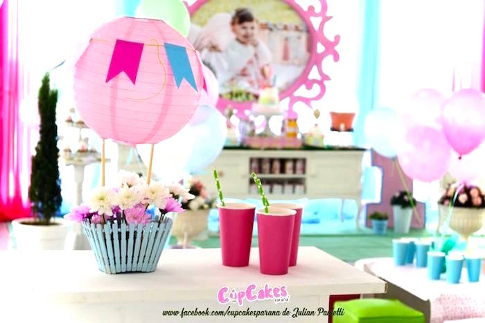 Shabby Chic Hot Air Balloon Party