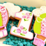 Cookies from a Shabby Chic Hot Air Balloon Party via Kara's Party Ideas | KarasPartyIdeas.com (1)