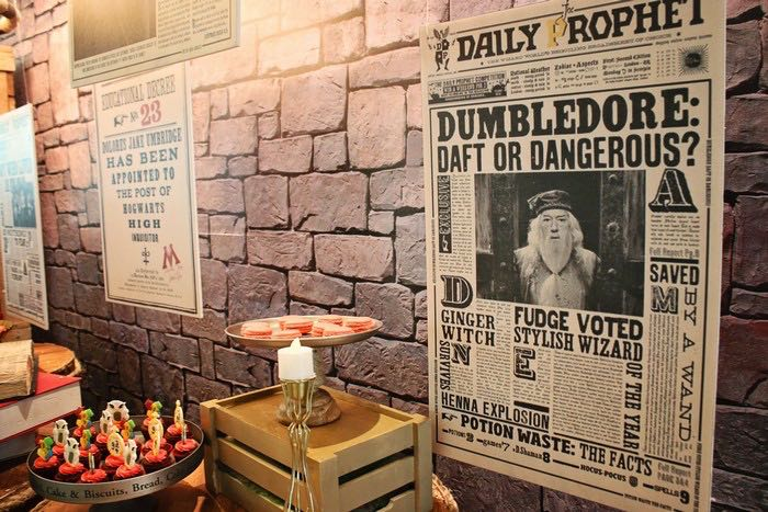 Newspaper Posters from a Boy Who Lived - Harry Potter Birthday Party via Kara's Party Ideas | KarasPartyIdeas.com (22)