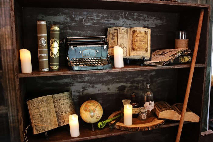 Decorations from a Boy Who Lived - Harry Potter Birthday Party via Kara's Party Ideas | KarasPartyIdeas.com (48)
