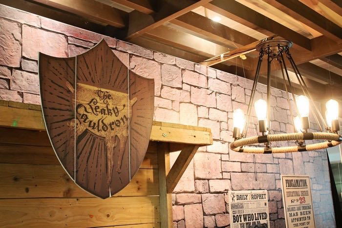 Decor Details from a Boy Who Lived - Harry Potter Birthday Party via Kara's Party Ideas | KarasPartyIdeas.com (14)