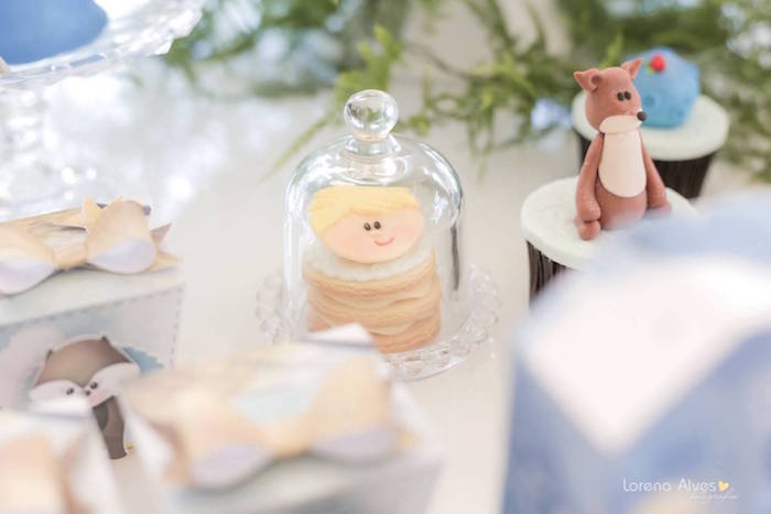 Stacked Cookie from a Little Prince Inspired Birthday Party via Kara's Party Ideas - KarasPartyIdeas.com (21)