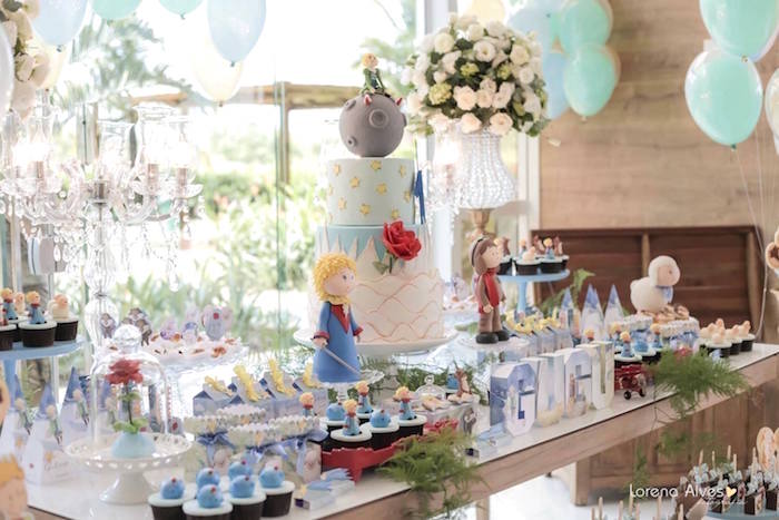 Kara S Party Ideas Little Prince Inspired Birthday Party
