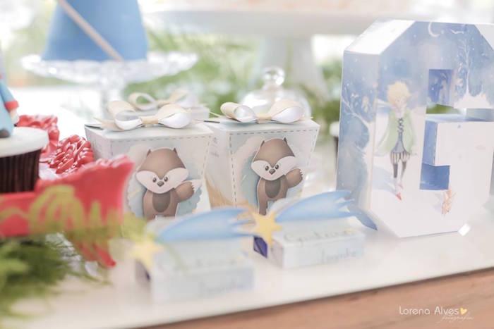 Mini Favor Boxes from a Little Prince Inspired Birthday Party via Kara's Party Ideas - KarasPartyIdeas.com (15)