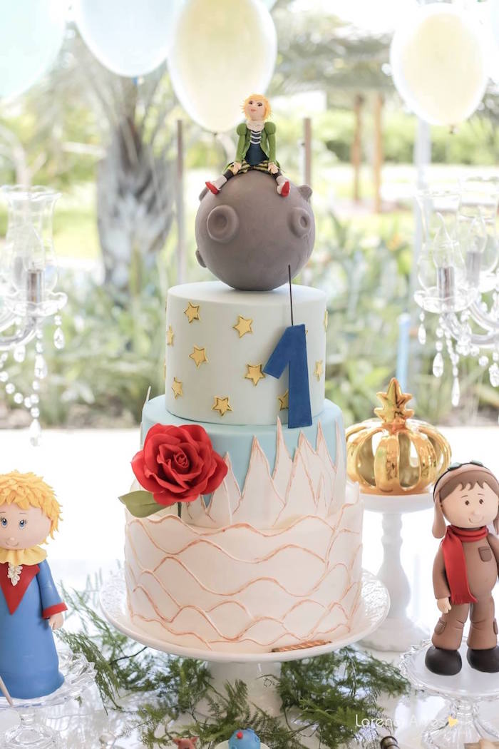 Karas party ideas little prince inspired birthday party karas cake from a little prince inspired birthday party via karas party ideas karaspartyideas filmwisefo Choice Image