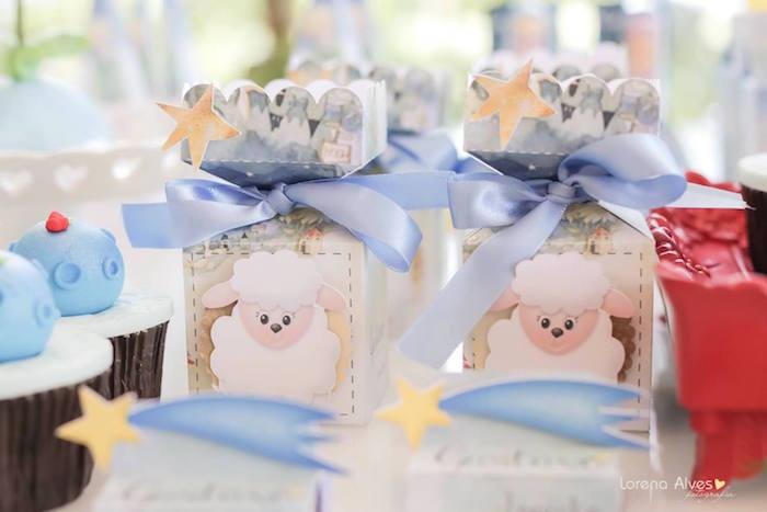 Favor Boxes from a Little Prince Inspired Birthday Party via Kara's Party Ideas - KarasPartyIdeas.com (11)