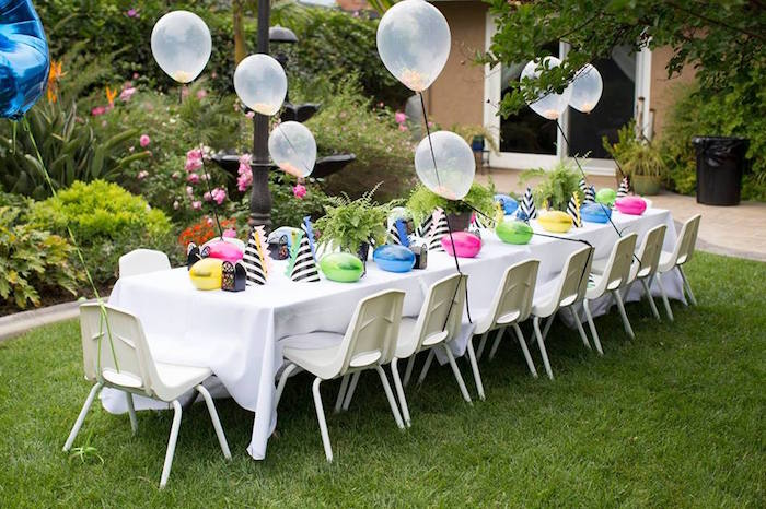 Karas Party Ideas Two A Saurus Dinosaur Garden Party Karas