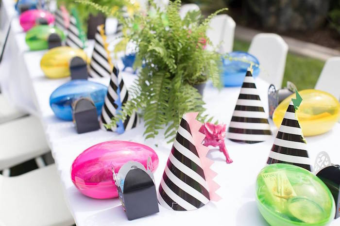 Kara\'s Party Ideas Two-A-Saurus Dinosaur Garden Party | Kara\'s Party ...