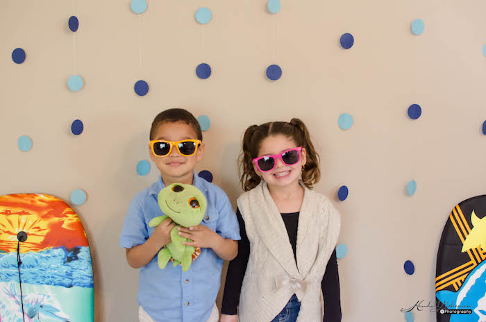 Photo Booth Fun from an Under The Sea Birthday Party via Kara's Party Ideas - KarasPartyIdeas.com (25)