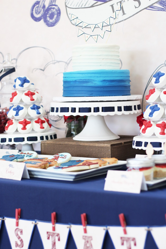 Vintage Airplane Cake Ideas