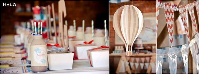 Details from a Vintage Airplane Birthday Party via Kara's Party Ideas | KarasPartyIdeas.com (8)