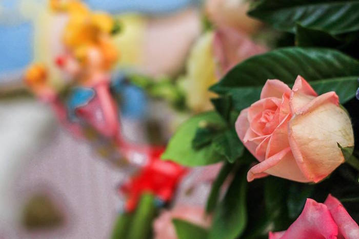 Rose from a Vintage Carousel Birthday Party via Kara's Party Ideas - KarasPartyIdeas.com (10)