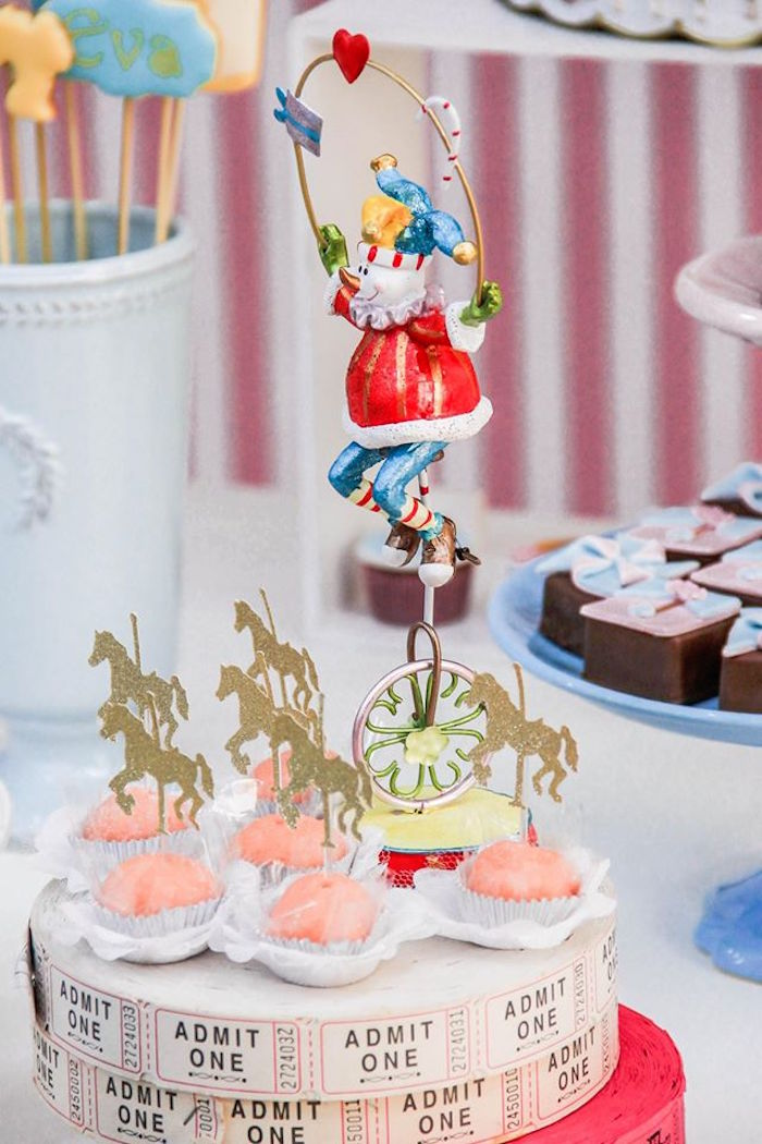 Details + Sweets from a Vintage Carousel Birthday Party via Kara's Party Ideas - KarasPartyIdeas.com (8)