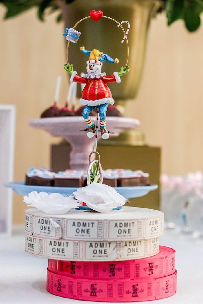 Decor from a Vintage Carousel Birthday Party via Kara's Party Ideas - KarasPartyIdeas.com (4)