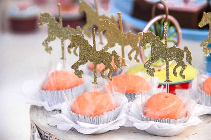 Sweets from a Vintage Carousel Birthday Party via Kara's Party Ideas - KarasPartyIdeas.com (32)
