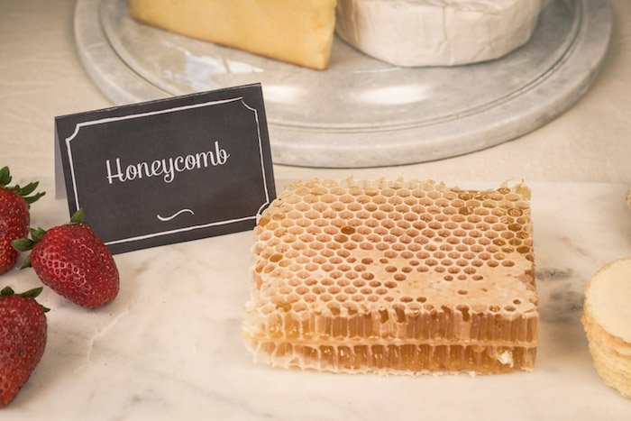 Honeycomb from a Vintage Fire Truck Themed Birthday Party via Kara's Party Ideas   KarasPartyIdeas.com   The Place for All Things PARTY! (25)