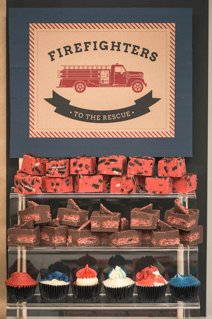 Birthday Cake Toy : Kara s party ideas vintage fire truck themed birthday