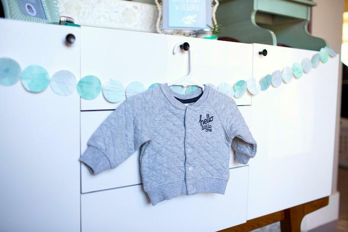 Garland from a Watercolor Baby Sprinkle via Kara's Party Ideas KarasPartyIdeas.com (31)