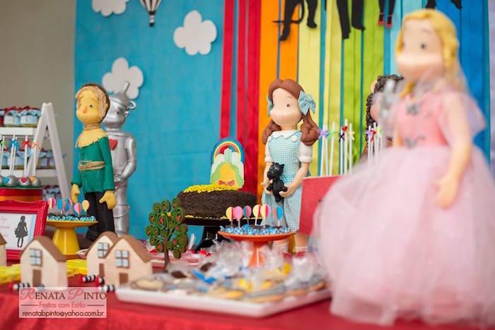 Dessert Table Details from a Wizard of Oz Birthday Party via Kara's Party Ideas | KarasPartyIdeas.com (19)