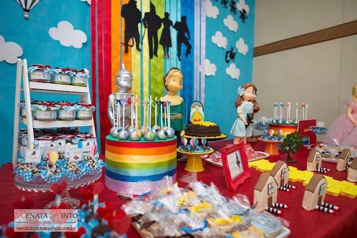 Karas Party Ideas Dorothy And Wizard Of Oz Birthday Party Karas