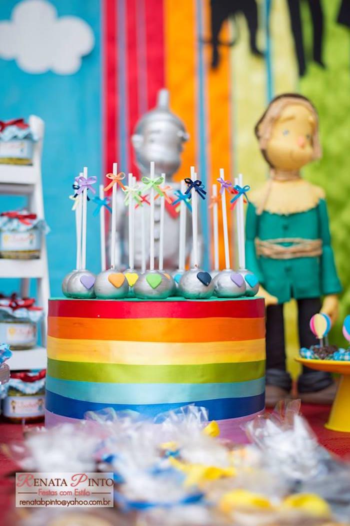 Cake Pops from a Wizard of Oz Birthday Party via Kara's Party Ideas | KarasPartyIdeas.com (6)