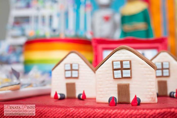 Dorothy's House Sweets from a Wizard of Oz Birthday Party via Kara's Party Ideas | KarasPartyIdeas.com (33)