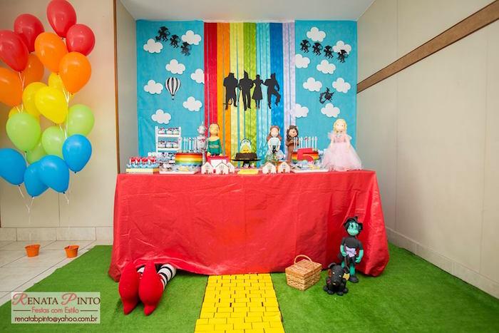 Sweet Table from a Wizard of Oz Birthday Party via Kara's Party Ideas | KarasPartyIdeas.com (4)