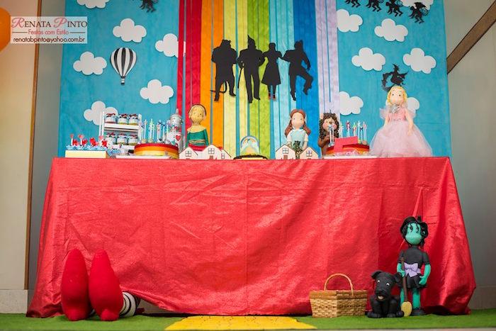 Sweet Table from a Wizard of Oz Birthday Party via Kara's Party Ideas | KarasPartyIdeas.com (30)