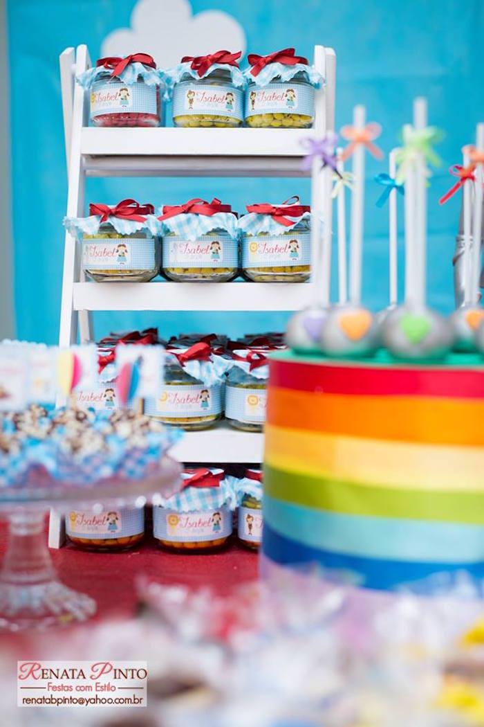 Favor Jars from a Wizard of Oz Birthday Party via Kara's Party Ideas | KarasPartyIdeas.com (28)