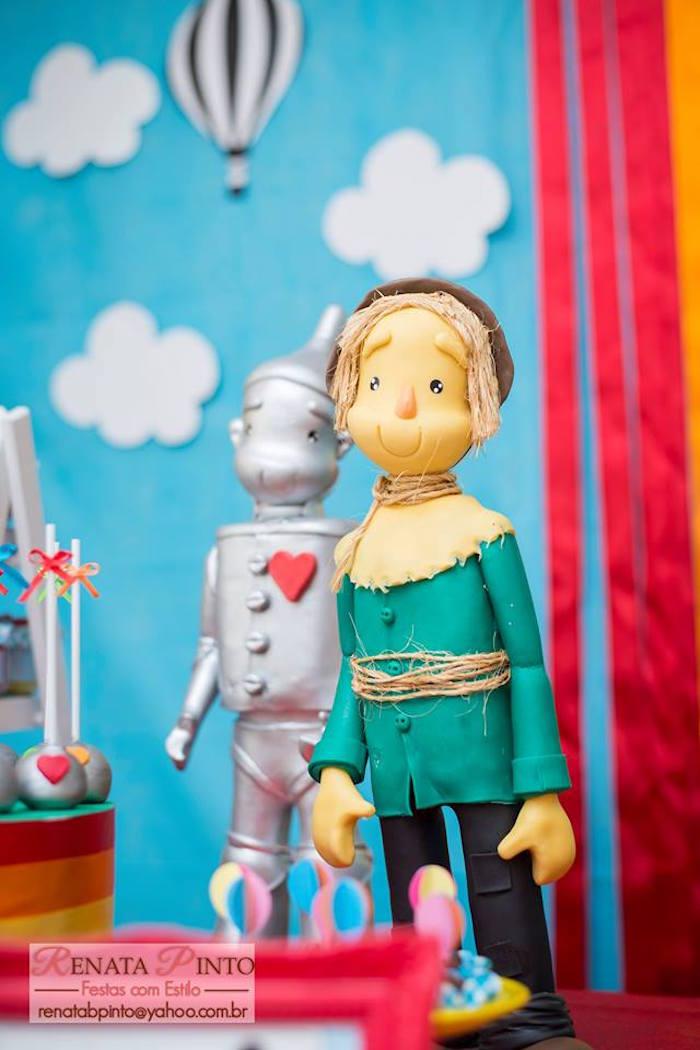 Scarecrow + Tin Man Dolls from a Wizard of Oz Birthday Party via Kara's Party Ideas | KarasPartyIdeas.com (26)