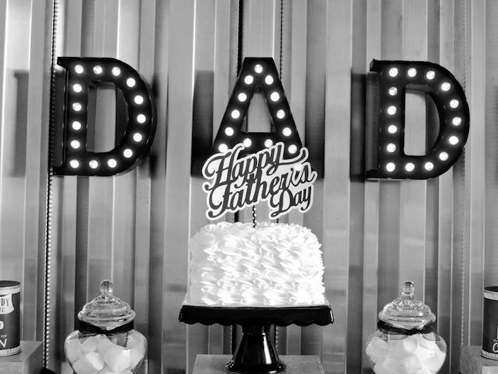 """Dad You're a Classic"" Father's Day Party via Kara's Party Ideas KarasPartyIdeas.com (7)"