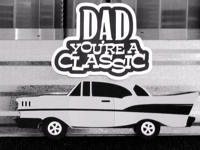 """Dad You're a Classic"" Father's Day Party via Kara's Party Ideas KarasPartyIdeas.com (4)"