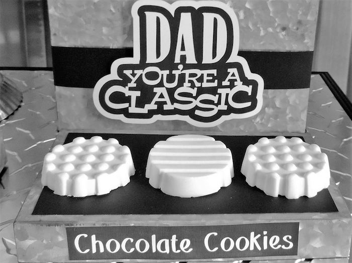 """Dad You're a Classic"" Father's Day Party via Kara's Party Ideas KarasPartyIdeas.com (3)"
