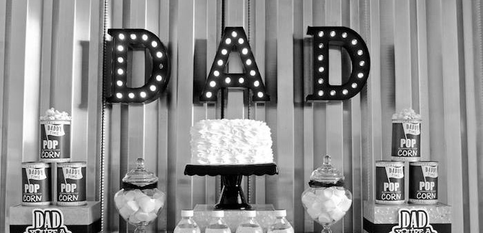 """Dad You're a Classic"" Father's Day Party via Kara's Party Ideas KarasPartyIdeas.com (1)"