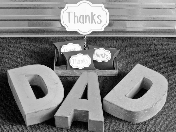 """Dad You're a Classic"" Father's Day Party via Kara's Party Ideas KarasPartyIdeas.com (27)"