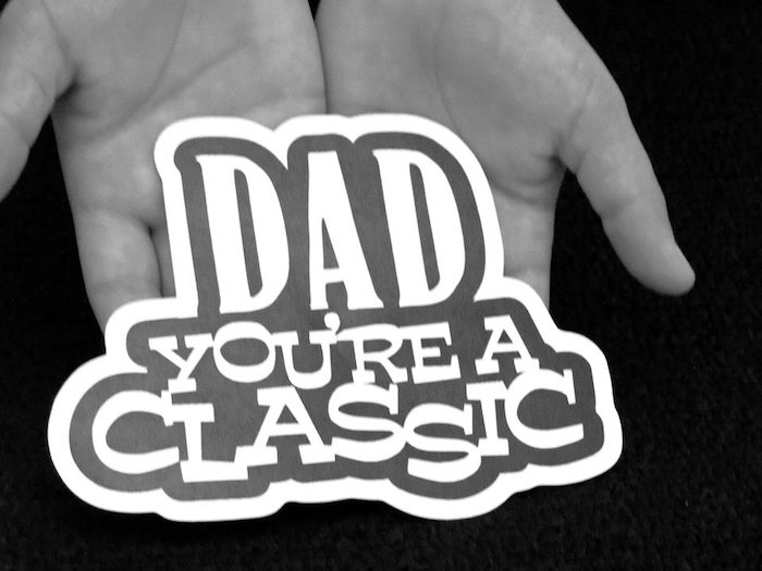 """Dad You're a Classic"" Father's Day Party via Kara's Party Ideas KarasPartyIdeas.com (26)"