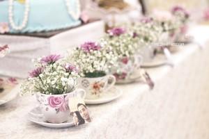 Tea Cup Floral Arrangements from an Afternoon Tea Bridal Shower via Kara's Party Ideas KarasPartyIdeas.com (31)