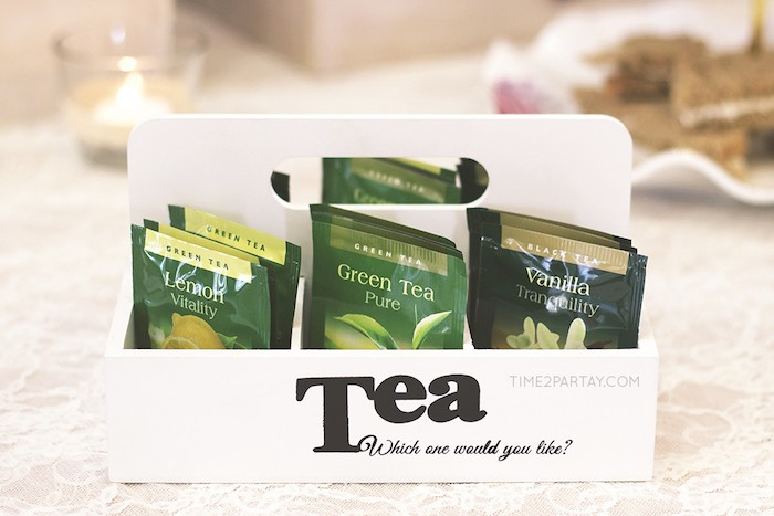 Tea Packets from an Afternoon Tea Bridal Shower via Kara's Party Ideas KarasPartyIdeas.com (30)