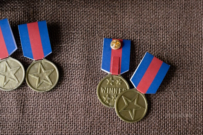 Medal of Honor favors from an Army Themed Birthday Party via Kara's Party Ideas | KarasPartyIdeas.com- The place for all things Party! (46)