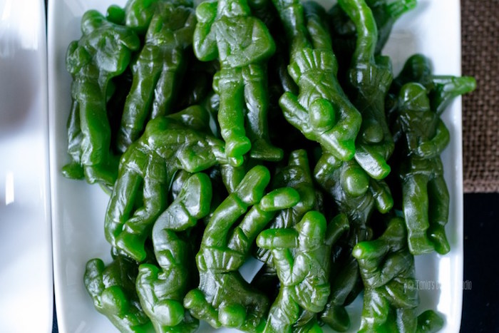 Gummy Army Men from an Army Themed Birthday Party via Kara's Party Ideas | KarasPartyIdeas.com- The place for all things Party! (35)