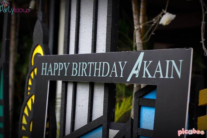 Details from an Avengers Themed Birthday Party via Kara's Party Ideas | KarasPartyIdeas.com (23)