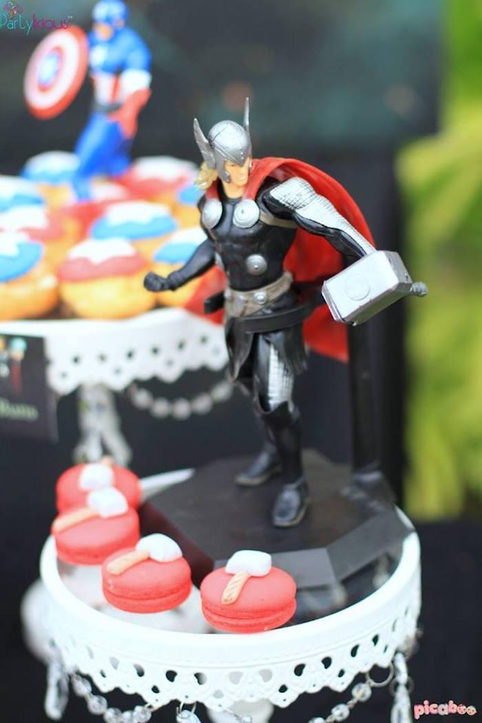 Avengers Themed Birthday Party via Kara's Party Ideas | KarasPartyIdeas.com (22)