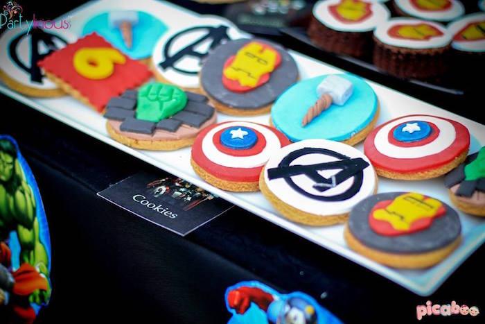 Kara's Party Ideas Avengers Birthday Party | Kara's Party Ideas