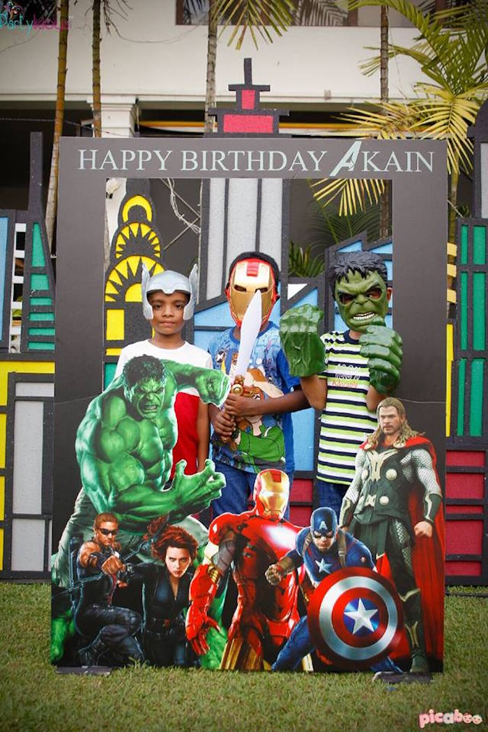 Karas Party Ideas Avengers Birthday Party Karas Party Ideas